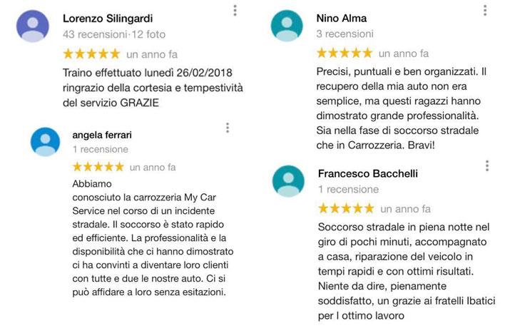recensioni miglior soccorso stradale reggio emilia