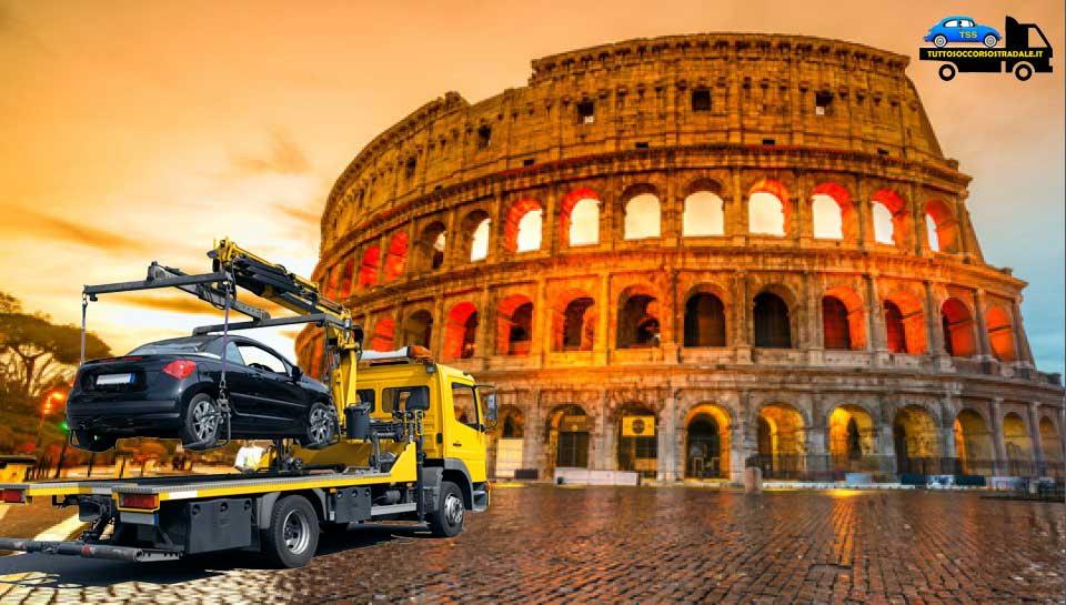 soccorso stradale carroattrezzi roma est 24 ore