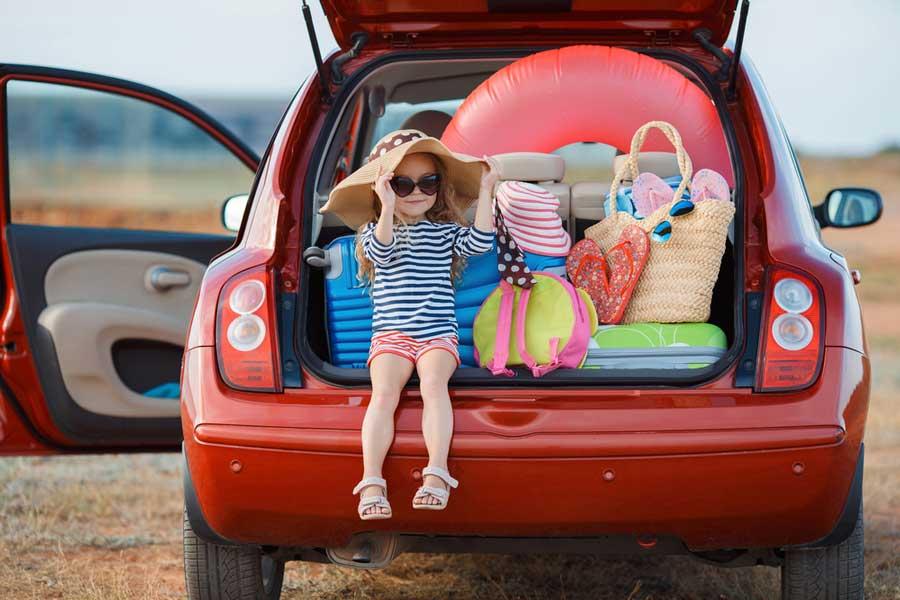 viaggiare in auto vacanze