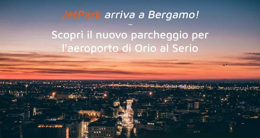 parcheggio JetPark per l'aeroporto di Orio al Serio
