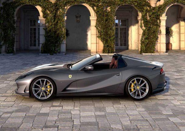 Ferrari 812 GTS design