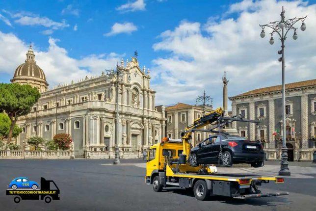 soccorso stradale catania con carroattrezzi economico 24 ore