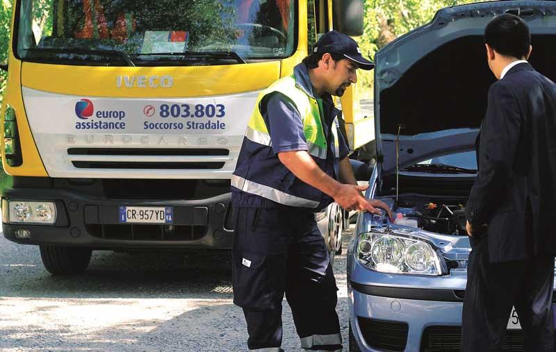 soccorso stradale europ assistance costo