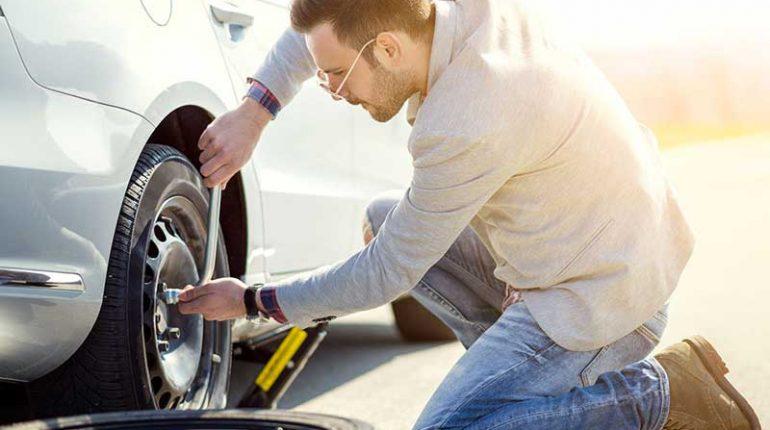 manutenzione pneumatici automobile