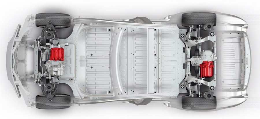 motore auto elettrica tesla