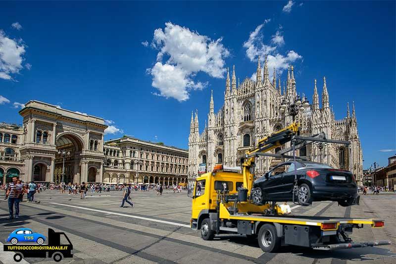 soccorso stradale Milano carroattrezzi 24 ore
