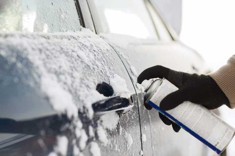 deghiacciante spray portiere auto