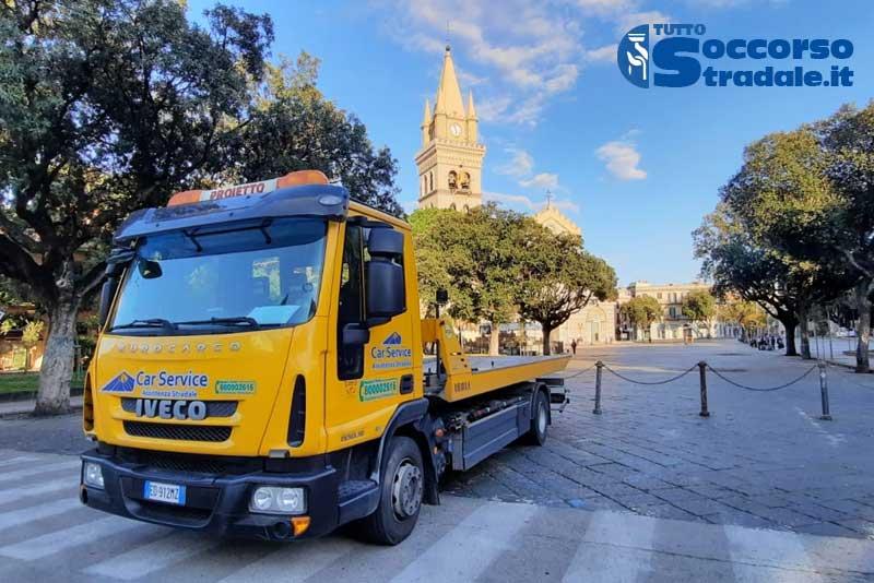 soccorso stradale Messina con carroattrezzi h24